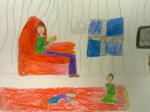 Kersti Kaljulaid kodus