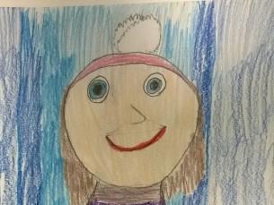 Kersti Kaljulaid suusatamas