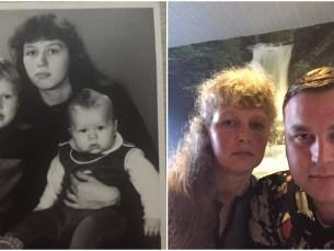 Jaanus emaga 1986 vs 2017