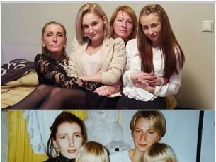 2016 VS 1997  Suured ja väikesed õed ♥️