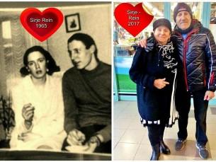 Lapsepõlvesõprade taaskohtumine üle 50 aasta! :)