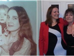 Karin emaga aastal  1979 vs 2017