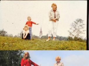 Kadi  õe ja emaga 1986 vs 2016