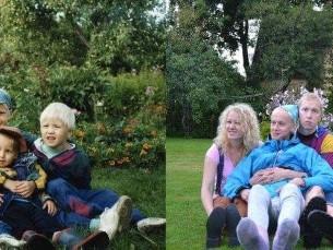 Kahe õe lapsed 18aastase vaheajaga. 1997/2015