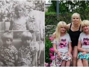 Tiia õdedega 1972 ja 2017