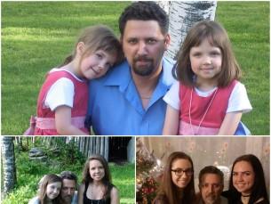 Minu kallid tütred läbi aastate...