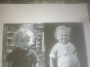 Vasakulpool lapselapselaps 2017a Paremalpool vanavanaisa 1937a