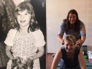 Lapsepõlvesõprade taaskohtumine 30 aastase vahega 1987.2017