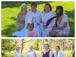 Neli õde aastal 2007 ja 2017