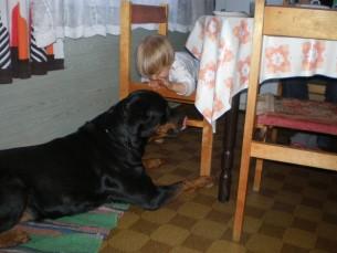 Väikse lapse suur sõber.