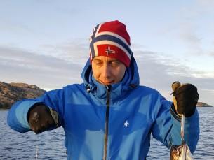 Pilt tehtud täna 13.11.2019 Norras. Kaladeks on kolm Saidat  millest kaks kaalus 3 kilo ja.kolmas kaalus 5 kg
