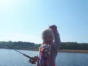 Selle aasta esimene kalapüük.