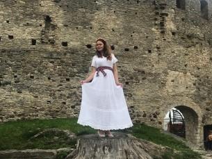 Lepatriinumustriga kleit