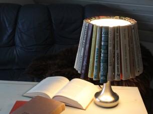 Vanadest raamatutest sai lamp