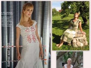 Mulle meeldib väga lõige Käsitöö 2014. aasta sügisnumbrist. Need on figuuri järgi õmmeldud kleidid.