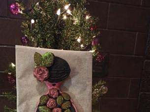 Lapsega koos tehtud magus piparkoogi daam. 4.klass Heili Lehtmaa Hagudi Põhikool