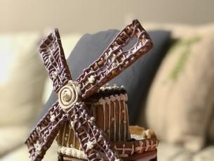 Sel aastal valmis minu esimene piparkoogiteos- tuuleveski:)