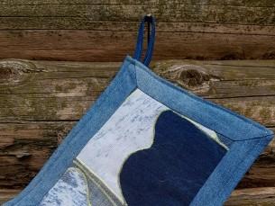 PAJALAPP. Vanadest teksadest lapitehnikas õmmeldud pajalapp